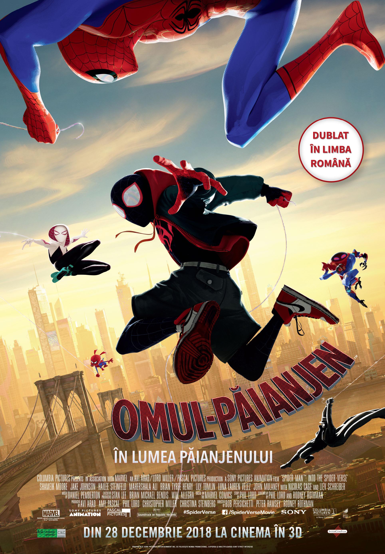 stirile industriei filmului de animatie Stirile industriei filmului de animatie Spider Man into the Spider Verse 1