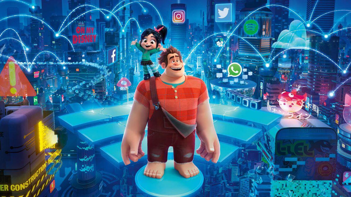 exercitiu de imaginatie: cum ar arata internetul monopolizat de disney. ralph strica tot rupe netu' cu vlogul lui, iar printesa vanellope se intalneste cu printesele disney si cu baby groot, copacelul din universul marvel Exercitiu de imaginatie: cum ar arata Internetul monopolizat de Disney. Ralph Strica Tot rupe netu' cu vlogul lui, iar printesa Vanellope/ Vanilina se intalneste cu printesele Disney si cu Baby Groot, copacelul din universul Marvel Ralph Breaks the Internet 2
