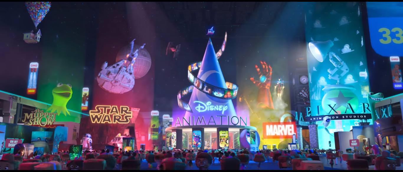exercitiu de imaginatie: cum ar arata internetul monopolizat de disney. ralph strica tot rupe netu' cu vlogul lui, iar printesa vanellope se intalneste cu printesele disney si cu baby groot, copacelul din universul marvel Exercitiu de imaginatie: cum ar arata Internetul monopolizat de Disney. Ralph Strica Tot rupe netu' cu vlogul lui, iar printesa Vanellope/ Vanilina se intalneste cu printesele Disney si cu Baby Groot, copacelul din universul Marvel Ralph Breaks the Internet 3
