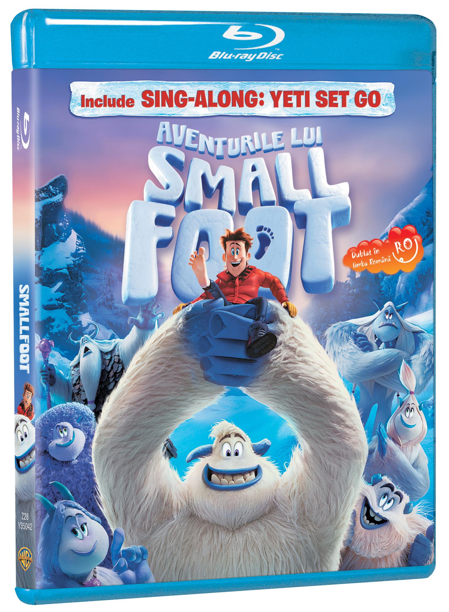 pro video a lansat aventurile lui smallfoot, format dvd, blu-ray si 3dbd Pro Video a lansat filmul de animatie Aventurile lui Smallfoot, format DVD, Blu-Ray si 3DBD SmallFoot BD 3D pack