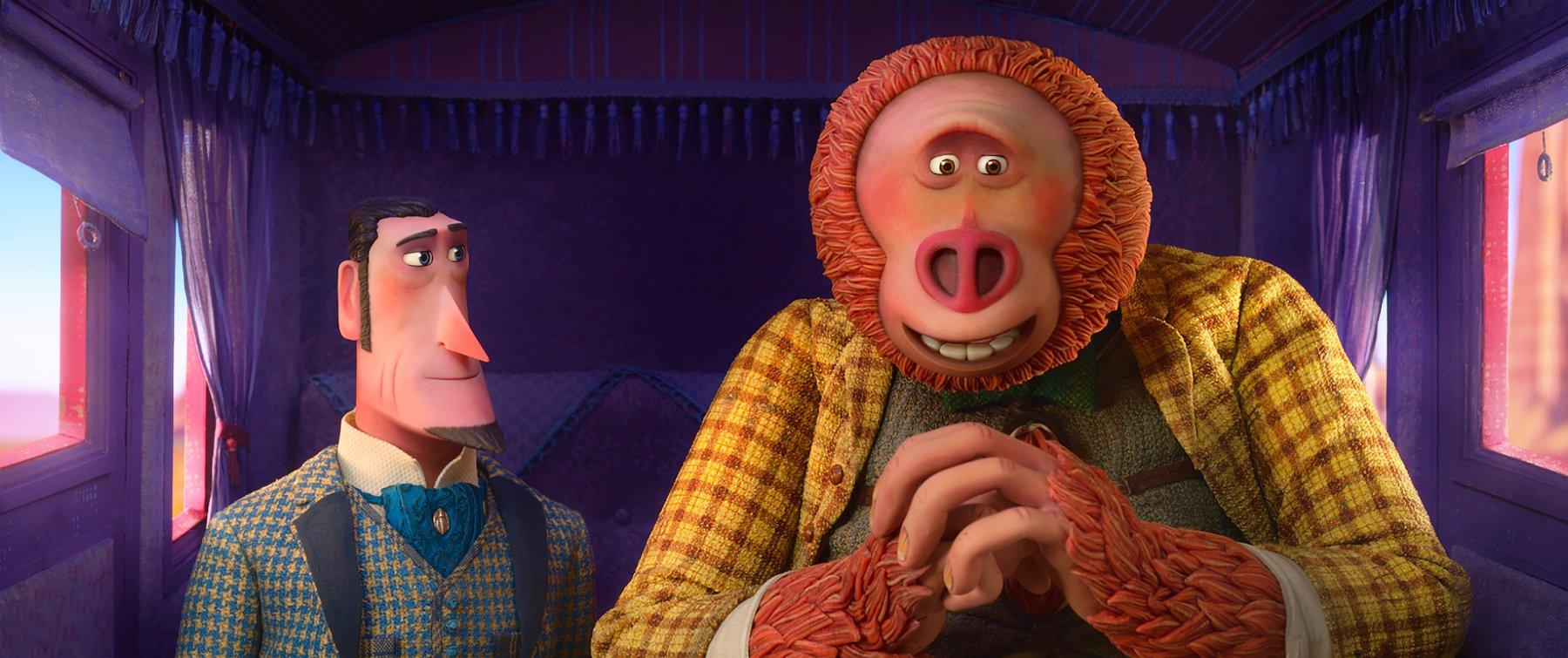domnul link vine în premieră în aventura animată haios şi blănos din 12 aprilie pe marile ecrane Domnul Link vine în premieră în aventura animată Haios şi Blănos din 12 aprilie pe marile ecrane Missing Link 1