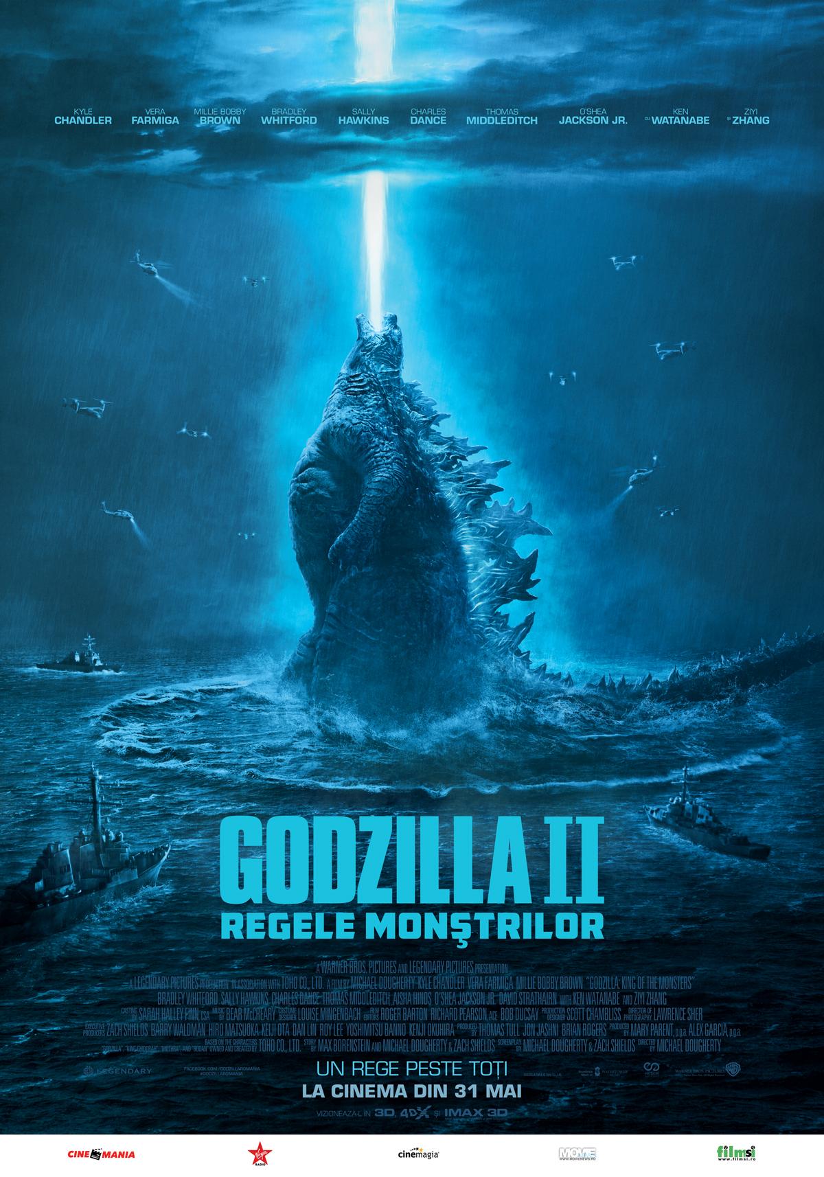 stirile industriei filmului de animatie Stirile industriei filmului de animatie Godzilla MainPoster 70x100cm IMAX preview