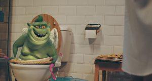 animatie Proanimatie – Stiri despre filme de animatie Monstrul din WC animatie CGI 300x160