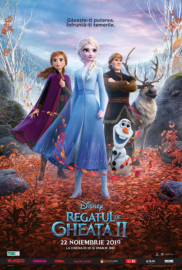 frozen ii/ regatul de gheață ii, noi aventuri fantastice pentru toate vârstele. biletele deja s-au pus în vânzare Frozen II/ Regatul de Gheață II, noi aventuri fantastice pentru toate vârstele. Biletele deja s-au pus în vânzare 102927 FROZEN 2 ONLINE poster cinema city