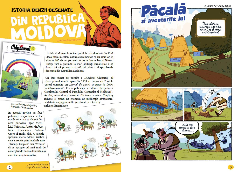 revista comics nr.40 - editie speciala rep. moldova Revista COMICS nr.40 – Editie speciala Rep. Moldova pagini Revista COMICS nr 40 benzi desenate Republica Moldova
